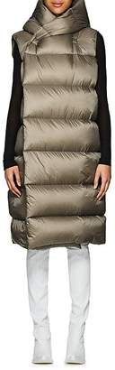 Rick Owens Women's Down-Quilted Hooded Puffer Vest