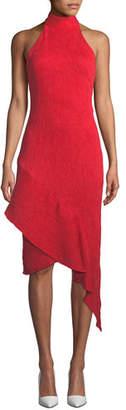 Elliatt Felice Asymmetric Halter Dress