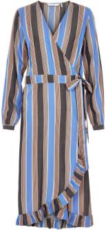 Nümph Jemima Dress - 34 - Blue/Purple/Grey