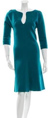 Leroy Veronique Long Sleeve A-Line Dress