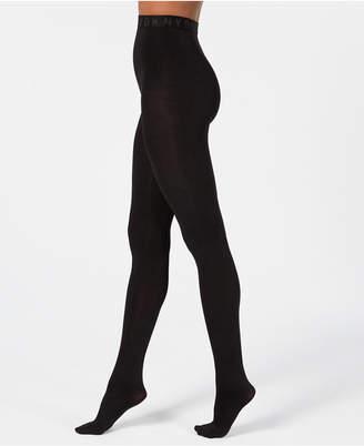 DKNY Control-Top Cozy Opaque Tights