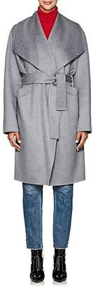 Xo Barneys Colombo Women's Double-Faced Cashmere Belted Coat - Gray