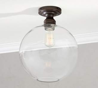 Pottery Barn PB Classic Flush Mount - Glass Globe