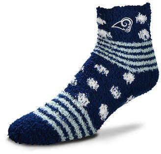 For Bare Feet Los Angeles Rams Homegater Sleep Soft Socks