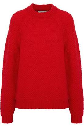 Sandro Judie Brushed Boucl-Knit Mohair-Blend Sweater