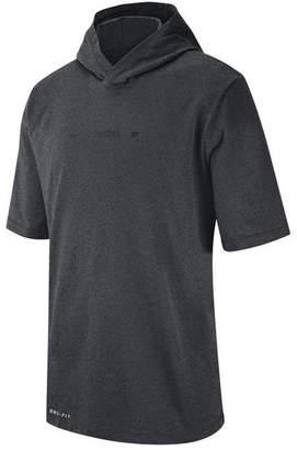 Nike Men Purdue Boilermakers Dri-fit Hooded T-Shirt
