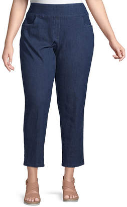 Alfred Dunner Lake Tahoe Proportioned Short Pant - Plus
