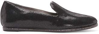 Donald J Pliner PRUESP, Crackled Patent Leather Flat