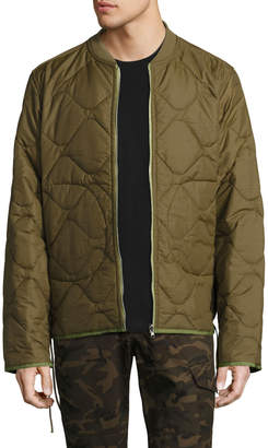 Ovadia & Sons Yardon Reversible Quilted Jacket, Olive