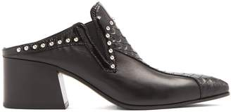 Acne Studios Karmir stud-embellished leather mules