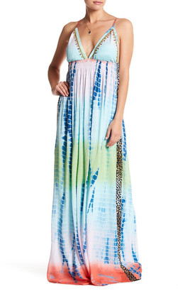 Letarte Long Smocked Waist Silk Dress $334 thestylecure.com