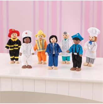 Kid Kraft Professional People 7Pc Doll Set
