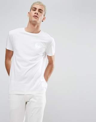 Cheap Monday Holographic Logo T-Shirt White