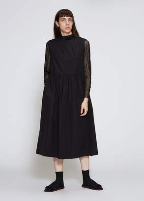 Marni Sleeveless Poplin Dress