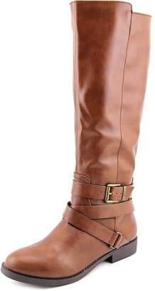 Style&Co. Style & Co. S.C. Lolah Ankle Strap Riding Boots