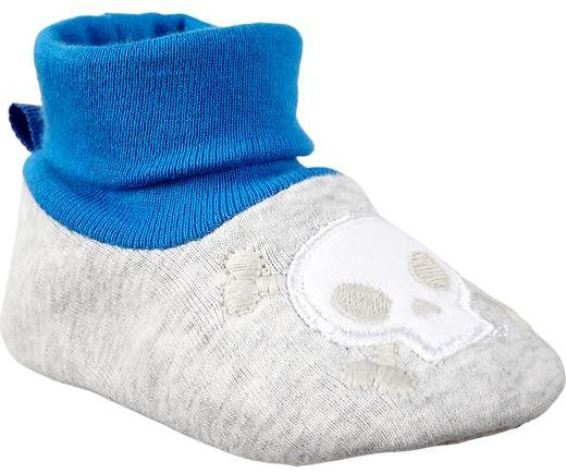 Old Navy Graphic-Jersey Slippers for Baby
