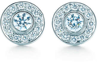 Tiffany & Co. Circlet earrings with diamonds
