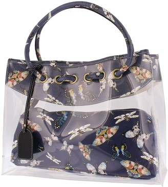 Spring Step L'Artiste by Spring Leather Tote Bag with Clutch - Butterflies