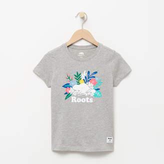 Roots Girls Floral Beaver T-shirt