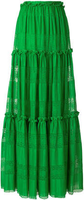 Capucci maxi full skirt