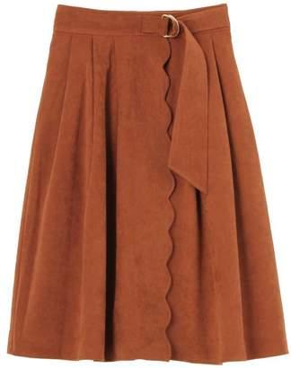 dazzlin (ダズリン) - dazzlin スカラップミディアムスカート