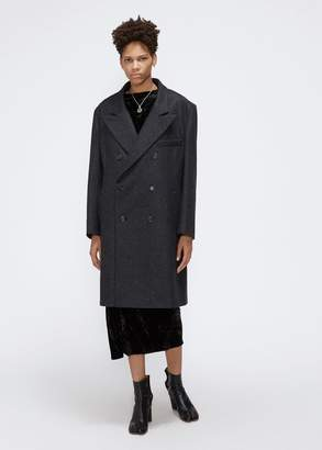 Maison Margiela Melange Wool Coat