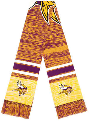 Forever Collectibles Minnesota Vikings Knit Color Blend Big Logo Scarf