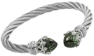 Burgmeister Jewelry Women's Bangle Bracelet 925 Sterling Silver Cubic Zirconia JBM3005 521