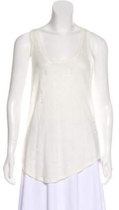 IRO Sleeveless Linen Top