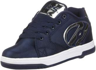 Heelys Boy's Propel Ballistic Running Shoes Navy/Silver/Chrome 5 M US Little Kid
