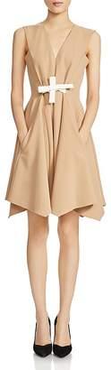 Maje Roupio Tie-Detail Dress