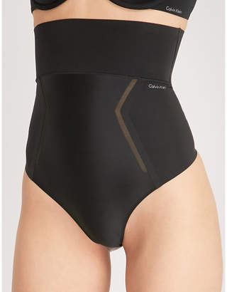 Calvin Klein High-rise stretch-jersey thong