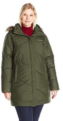 Columbia Women's Plus-Size Snow Eclipse Mid Jacket Plus