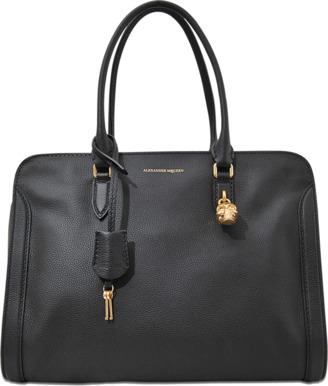 Alexander McQueen Padlock Ziparound bag $1,270 thestylecure.com