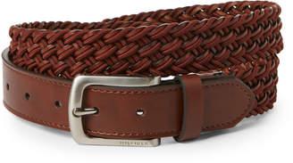 Tommy Hilfiger Brown Stretch Braided Belt