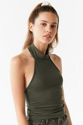 Urban Outfitters Backless Turtleneck Tank Top