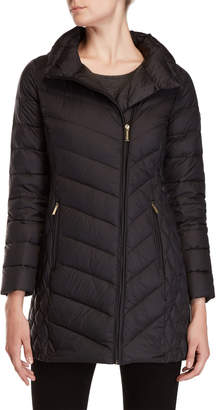MICHAEL Michael Kors Asymmetrical Down Coat