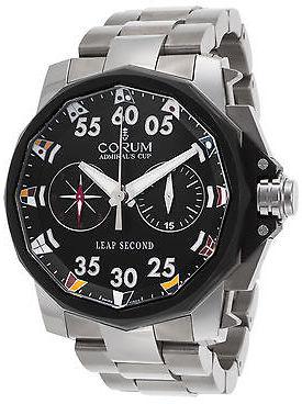 Corum 895-931-06-V791AN92 Men's Admiral's Cup Automatic Chrono Titanium Black