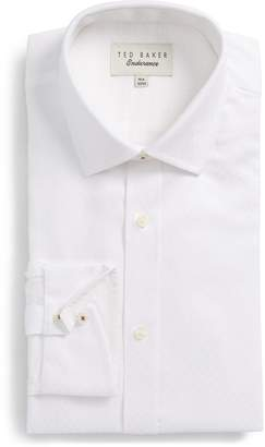 Ted Baker Catria Trim Fit Geometric Dress Shirt