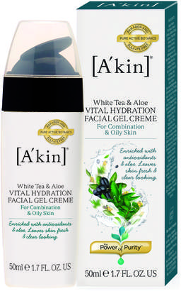 Akin A'kin A'Kin White Tea & Aloe Vital Hydration Gel Creme (50ml)