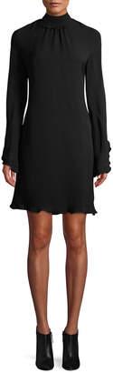 Derek Lam Open-Back Ruffle Dress