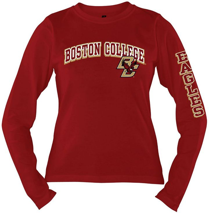 Russell Athletic boston college eagles tee - women