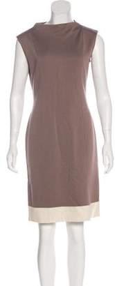 St. John Colorblock Shift Dress
