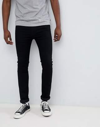 Levi's Levis 519 super skinny jeans stylo black