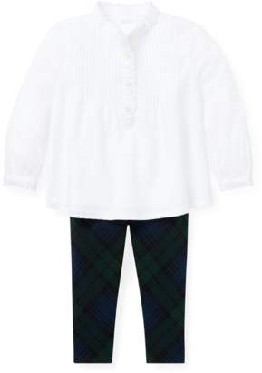 Ralph Lauren Kids Cotton Top Legging Set