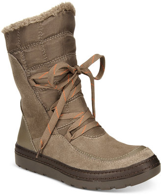 Bare Traps Lancy Lace-Up Cold-Weather Boots $99 thestylecure.com