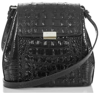 Brahmin Margo Croc Embossed Leather Crossbody Bag