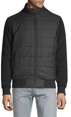 Bugatti Quilted Sweater Jacket