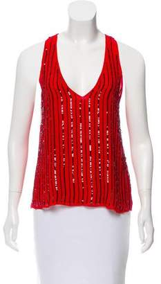 Rory Beca Embellished Sleeveless Top w/ Tags
