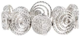 John Hardy 925 Sterling Silver Diamond Circle Bracelet